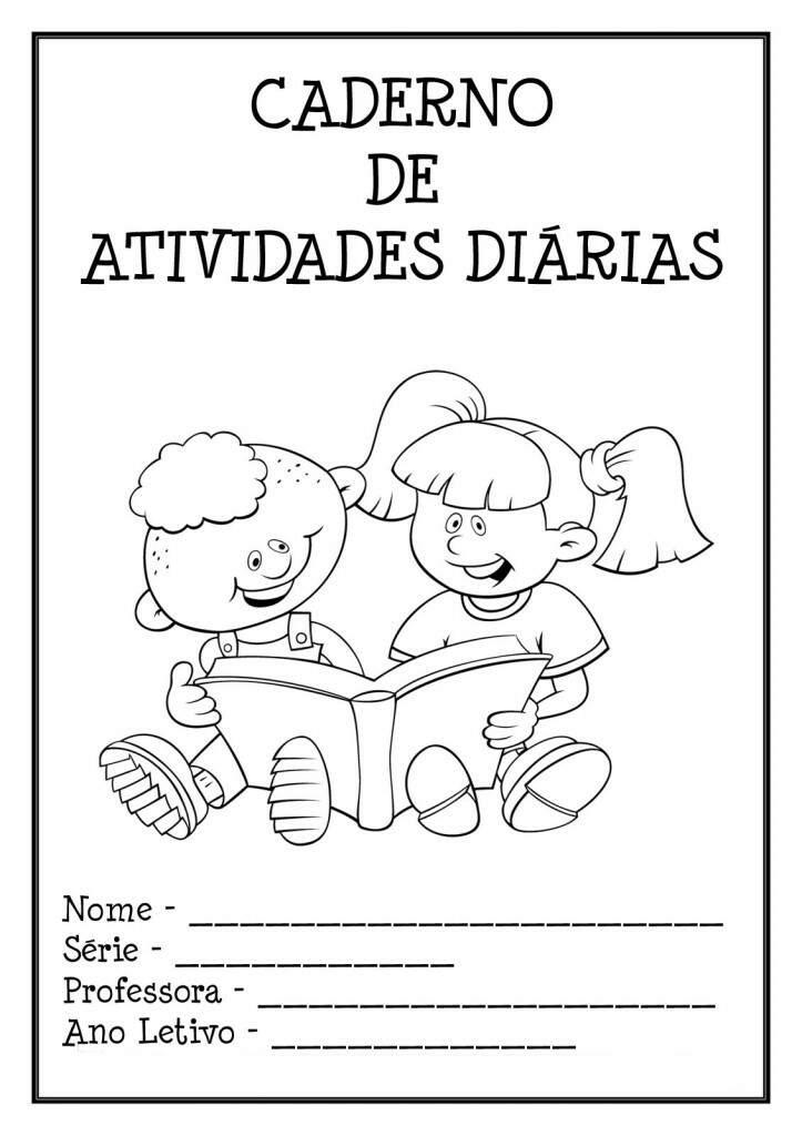Capas De Caderno Para Educação Infantil Atividades Para