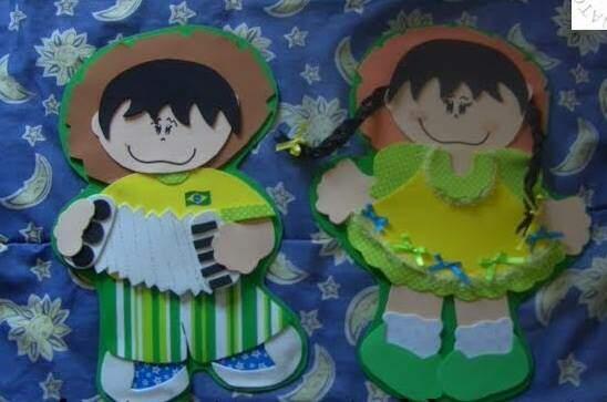 decoracao de sala festa junina educacao infantil: de Festa Junina com tema da Copa – Atividades para Educação Infantil