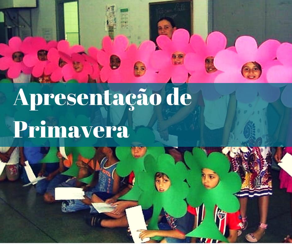 apresentacao primavera   Apresentação de Primavera   23 de Setembro   datas comemorativas    Atividades para Educacao Infantil