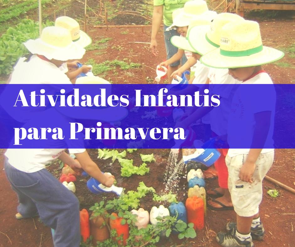 atividades primavera   Atividades para a Primavera   23 de Setembro   datas comemorativas    Atividades para Educacao Infantil
