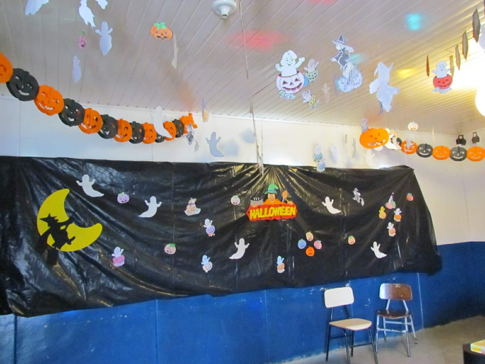Preferência Decoração da Sala de Aula para o Halloween - Atividades para  PY82